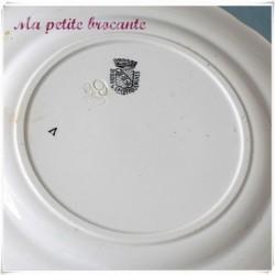 Assiette parlante série honneur gloire patrie Jeanne d'arc n°10