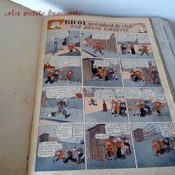 Bicot pêche à la ligne album n° 7 édition originale 1932