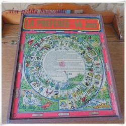 Boite ancienne de jeux éditée par la manufacture Lyonnaise de jouets