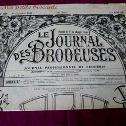 Le journal des brodeuses numéro n° 801 journal professionnel de broderie