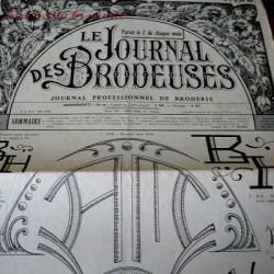Le journal des brodeuses numéro n° 799 journal professionnel de broderie