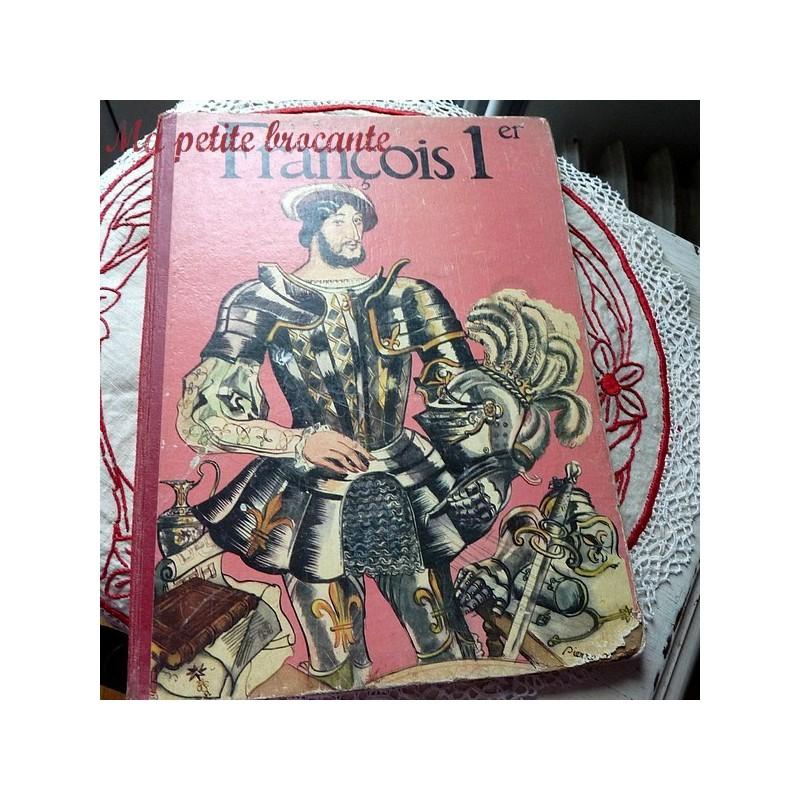 François 1er Robert Burnand et images de Pierre Noël - Couverture
