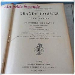 Grands hommes et grands faits de l'histoire de France des origines à la Révolution
