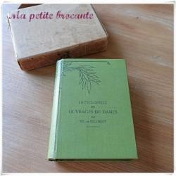 Encyclopédie des ouvrages de dames par Thérèse de Dillmont petit format
