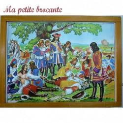 Affiche scolaire pédagogique n° 13 et 14 Turenne et Louis XV