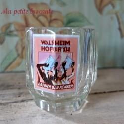 Ancienne chope à bière Walsheilm Hofbrau 5/20 l émaillée