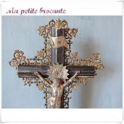 Ancien crucifix autel Napoléon III