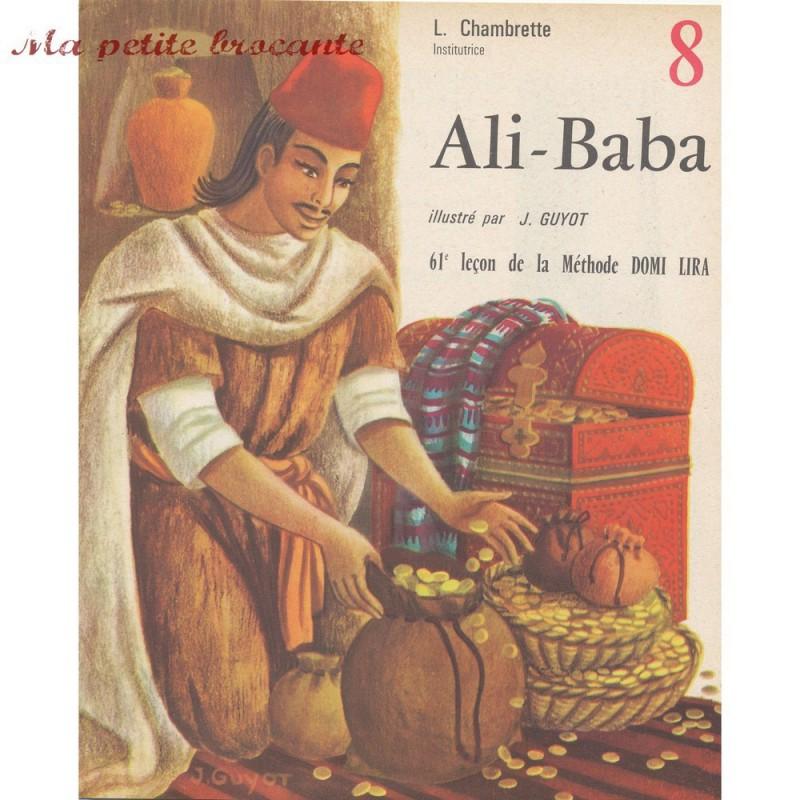 Ali-Baba  illustré par GUYOT  DOMI LIRA