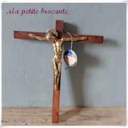 Crucifix Alfred Partant en bronze