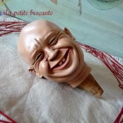 Bouchon ancien Achatit tête expressive Khrouchtchev