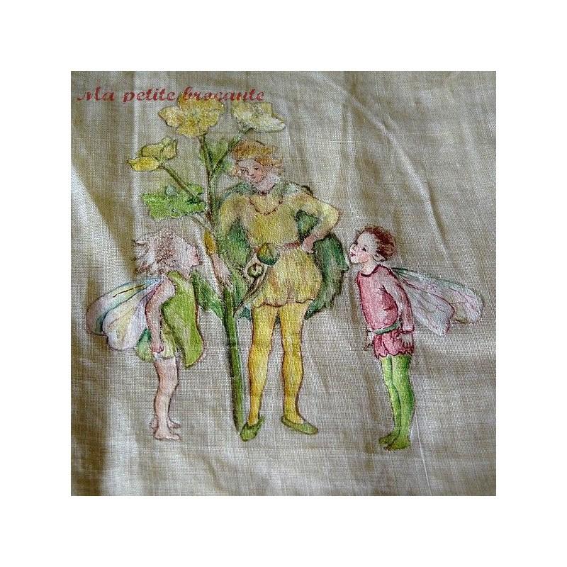 Range mouchoirs ou porte mouchoirs ancien