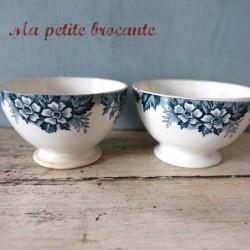 Lot de deux petits bols Nord Hamage & Moulin des Loups Marie-Louise