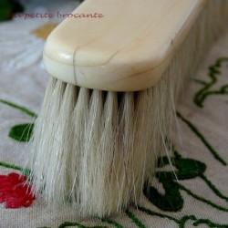 Belle brosse à habit en soie de porc