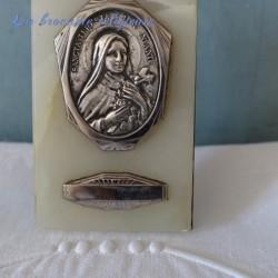 Cadre de dévotion à poser de Sainte Thérèse de Lisieux
