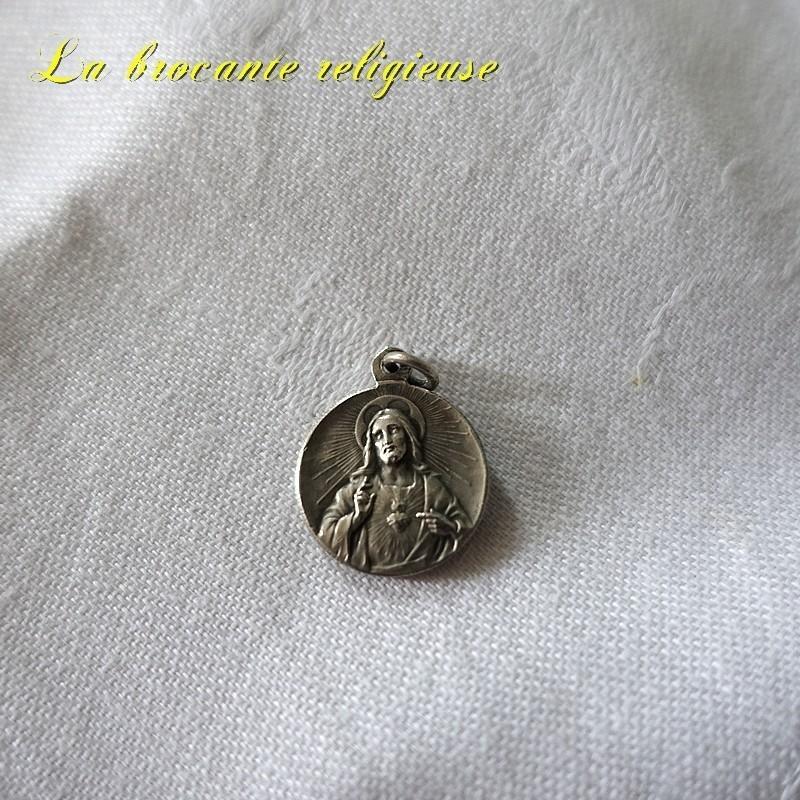 Médaille ancienne de Notre dame de Chabanne PPN Ussel