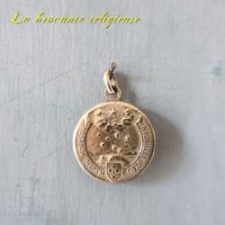 Médaille ancienne beata  teresia a jesus infante