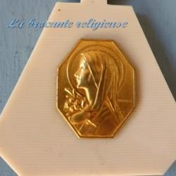 Médaille à suspendre de la Vierge Marie avec lys de T Parvillers