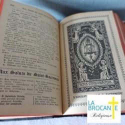 Receuil paroissial de prières et de cantiques abbé Saurin 1933