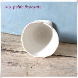 Tasse mazagran en porcelaine de Limoges PL