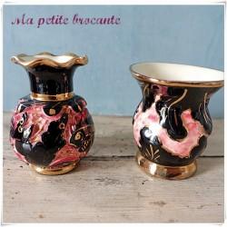 Lot de deux vases en céramique Monaco