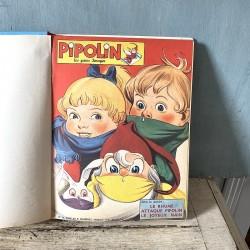 Album n° 5 Pipolin les gaies images du n° 25 au n° 30