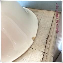 Grand saladier de la manufacture de Digoin & Sarreguemines modèle Odette
