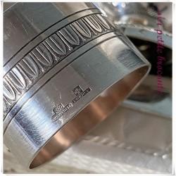 Coffret baptême naissance en métal argenté Christofle