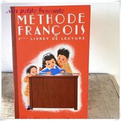Méthode François deuxième livret de lecture Fernand Nathan 1949