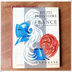 Récits d'histoire de France cours élémentaire Clozier