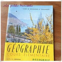 Cours de géographie M. Chaulanges cours élémentaire