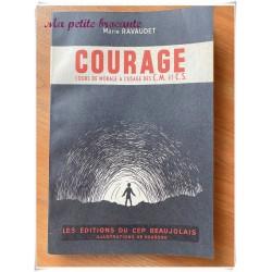 Cours de morale à l'usage des CM et CS : courage M. Ravaudet