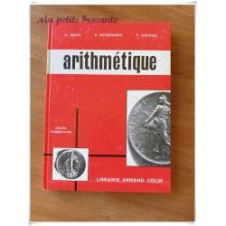 Livre d'arithmétique cours élémentaire A. Adam E. Ochsenbein T. Gouzou