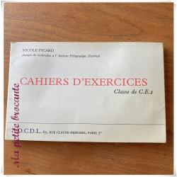 Cahiers d'exercices classe de CE2 Nicole Picard O.C.D.L
