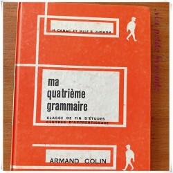 Ma quatrième grammaire H. Canac et B. Jughon