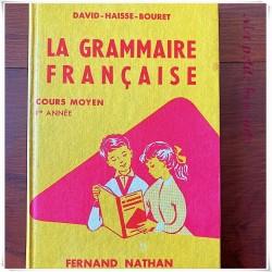 La grammaire française CM1 David Haisse Bouret