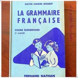 La grammaire française CE2 David Haisse Bouret