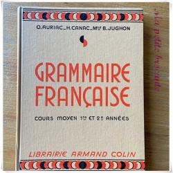 Grammaire française CM1 & CM2 O. Auriac H. Canac B. Jughon