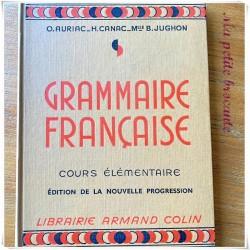 Grammaire française CE nouvelle progression O. Auriac H. Canac B. Jughon