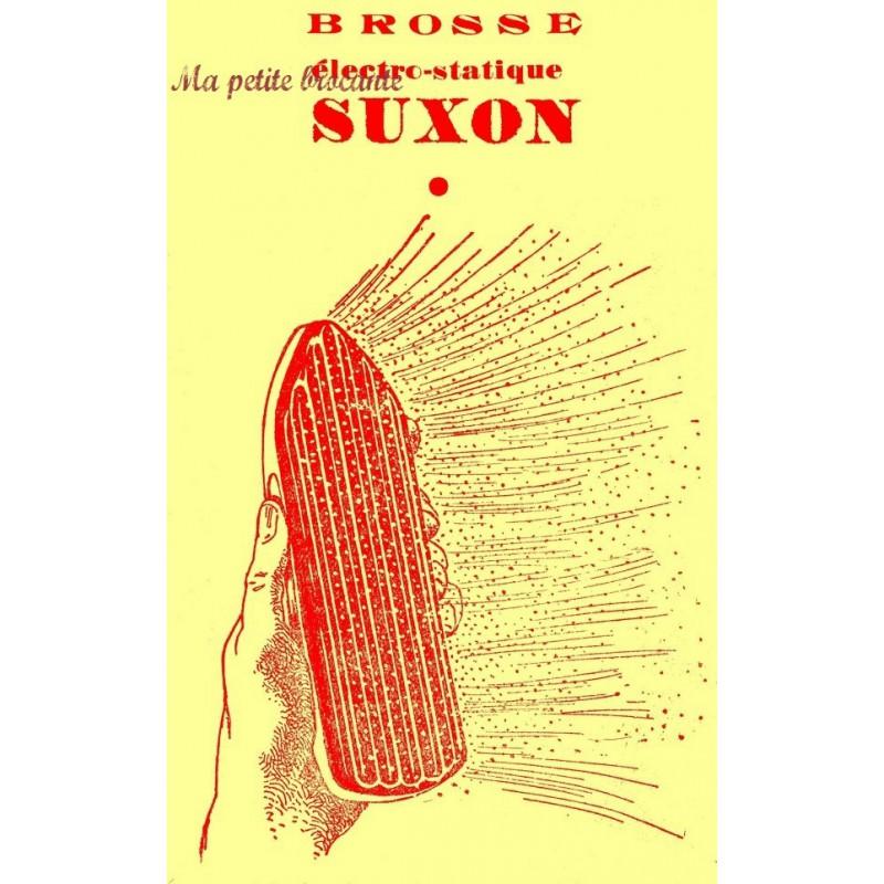 Brosse ancienne électrostatique SUXON en ébonite