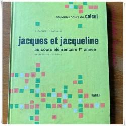 Nouveau cours de calcul Jacques et Jacqueline Hatier