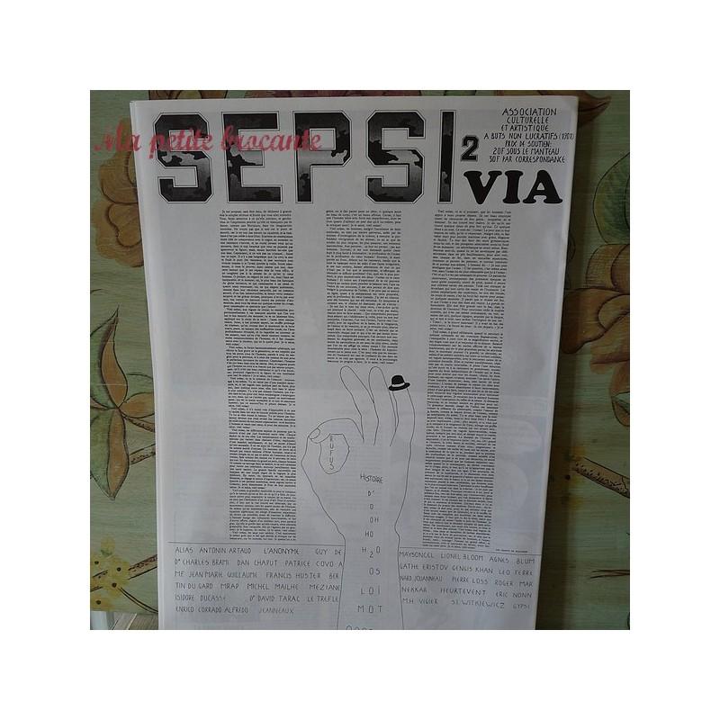 Revue SEBSI n°3 Manifeste de Covo Poète vos papiers Léo Ferré