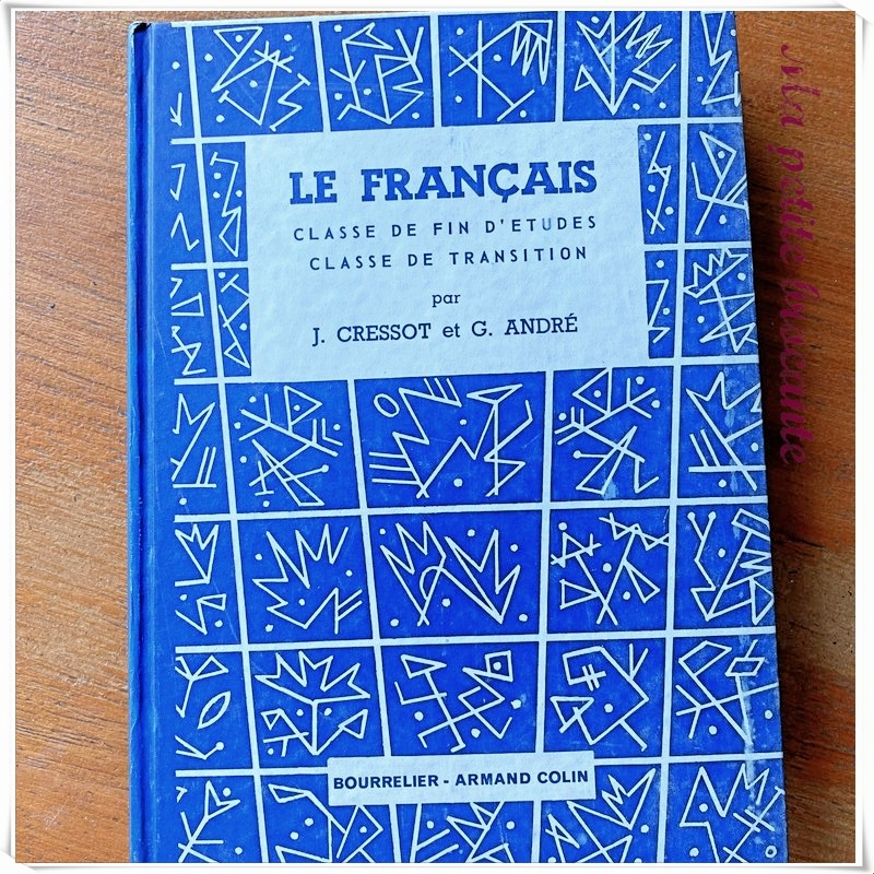 Le français classe de fin d'études de transition J. Cressot