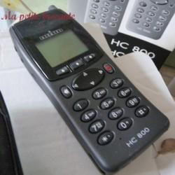 Téléphone mobile ancien alcatel HC800
