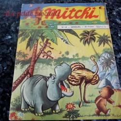 Mitchi n° 18 mensuel 1956