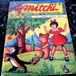 Mitchi n° 20 mensuel 1956