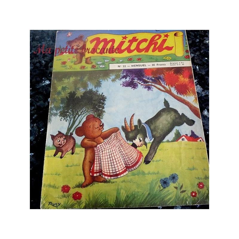 Mitchi n° 22 mensuel 1956