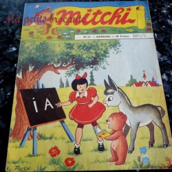 Mitchi n° 24 mensuel 1956