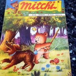 Mitchi n° 28 mensuel 1957