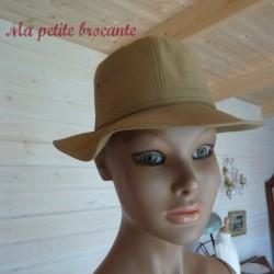 Ancien chapeau homme impercork taille 55 cm