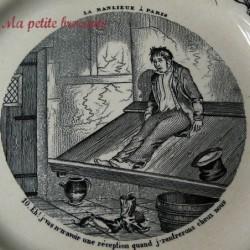 Assiette parlante vignette de la série La banlieue à Paris n° 10Choisy Le Roi